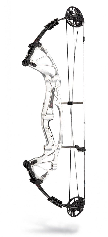 "Hoyt FX Comp SVX 2020 Compoundbogen - RH Silver Ice / 50-60# / Cam 3: 26""-27"""