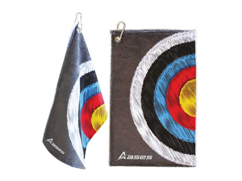 ASES Köcher Handtuch Zielauflage