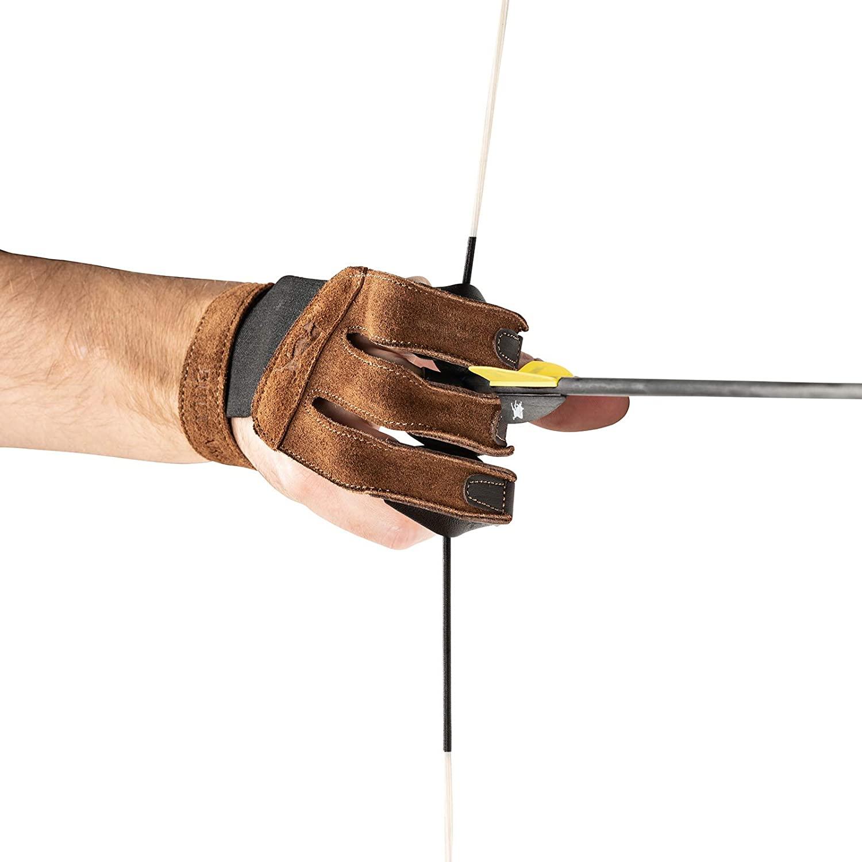 Traditioneller Schießhandschuh Claw L