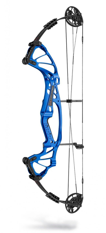 """Hoyt FX Comp DCX 2020 Compoundbogen - RH Cobalt Blue / 40-50# / Cam 1: 23""""-24.5"""""""