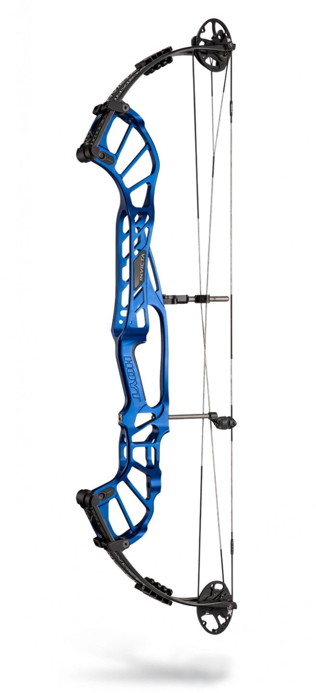 Hoyt Invicta 37 DCX 2020 Compoundbogen - LH Satin Cobalt Blue / 50-60# / Cam 1: 24.5-26