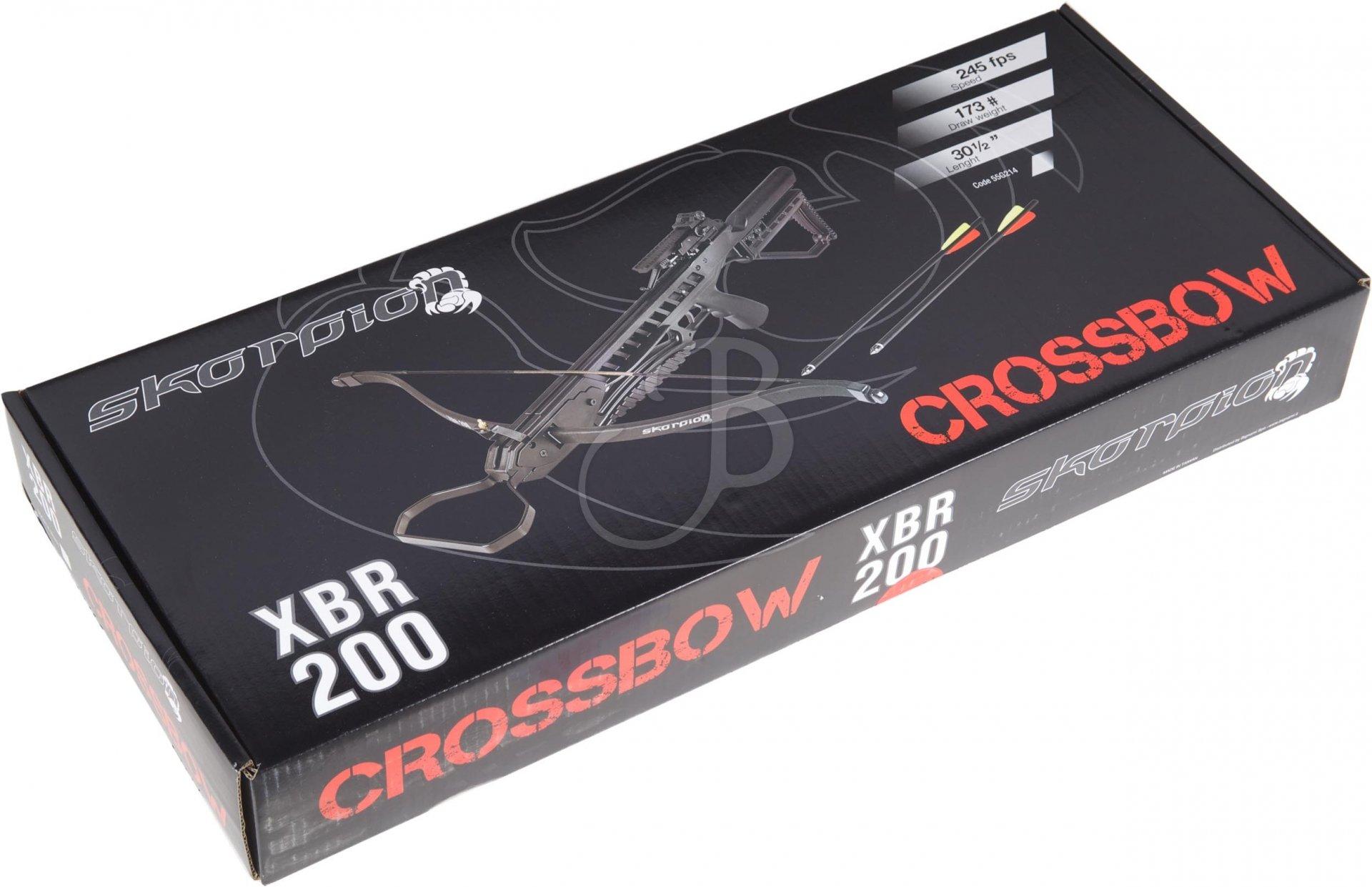 Skorpion Armbrust XBR 200 CM 175 SET