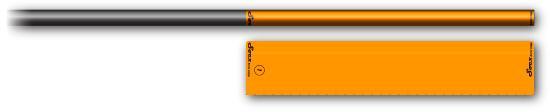 Socx Fluor Wrap 5.5mm / Orange