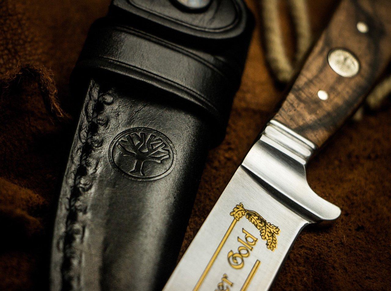 Böker Nicker 11 Jäger Gold Messer