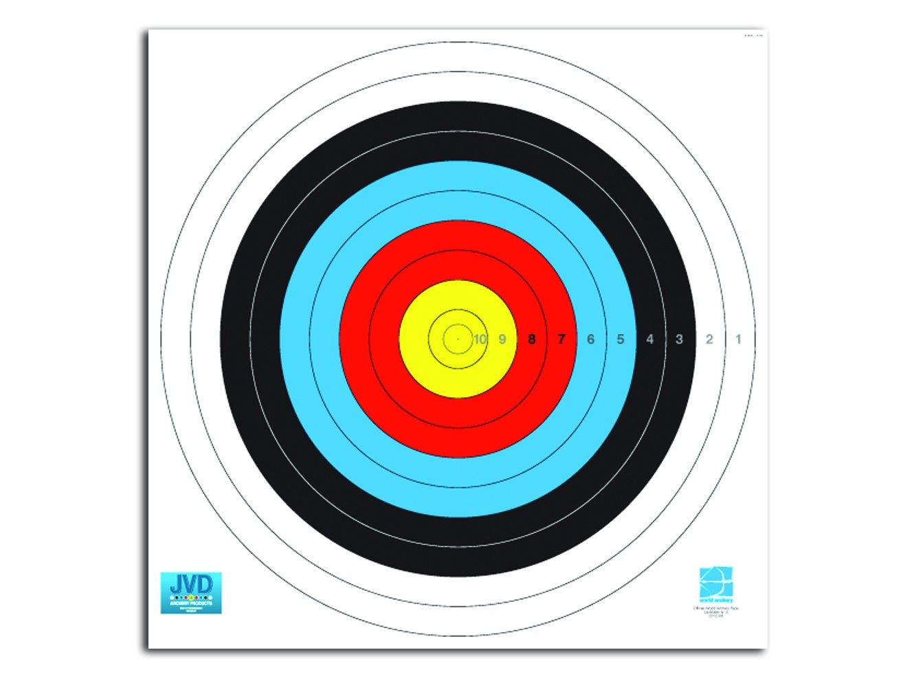 World Archery Federation (WA) - diverse Größen Scheibenauflage, Scheibenauflage - est-bogensport.de