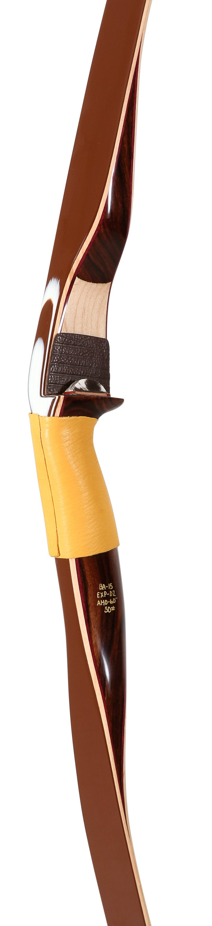 Bear Archery Kodiak Feldbogen Traditionell Weißer Ahorn LH / 35 lbs / satin