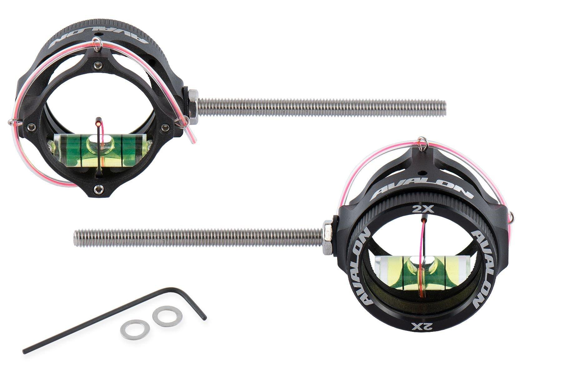 Avalon TEC X Compound Scope mit Linse 6x / rot
