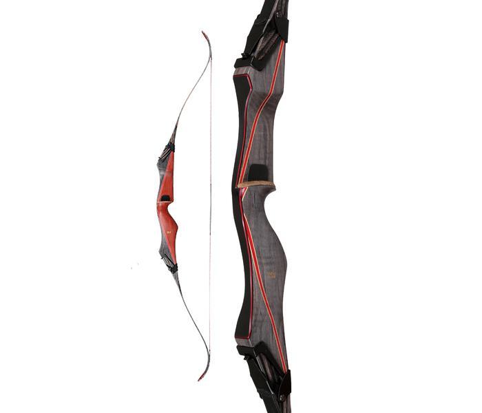 Bear Archery Mittelteil kurz (A) RH Ubinga/Phenolic/Black Stripe