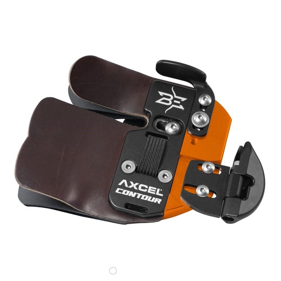 Axcel Contour Brady Ellison Signature Series Fingertab RH / M / Orange
