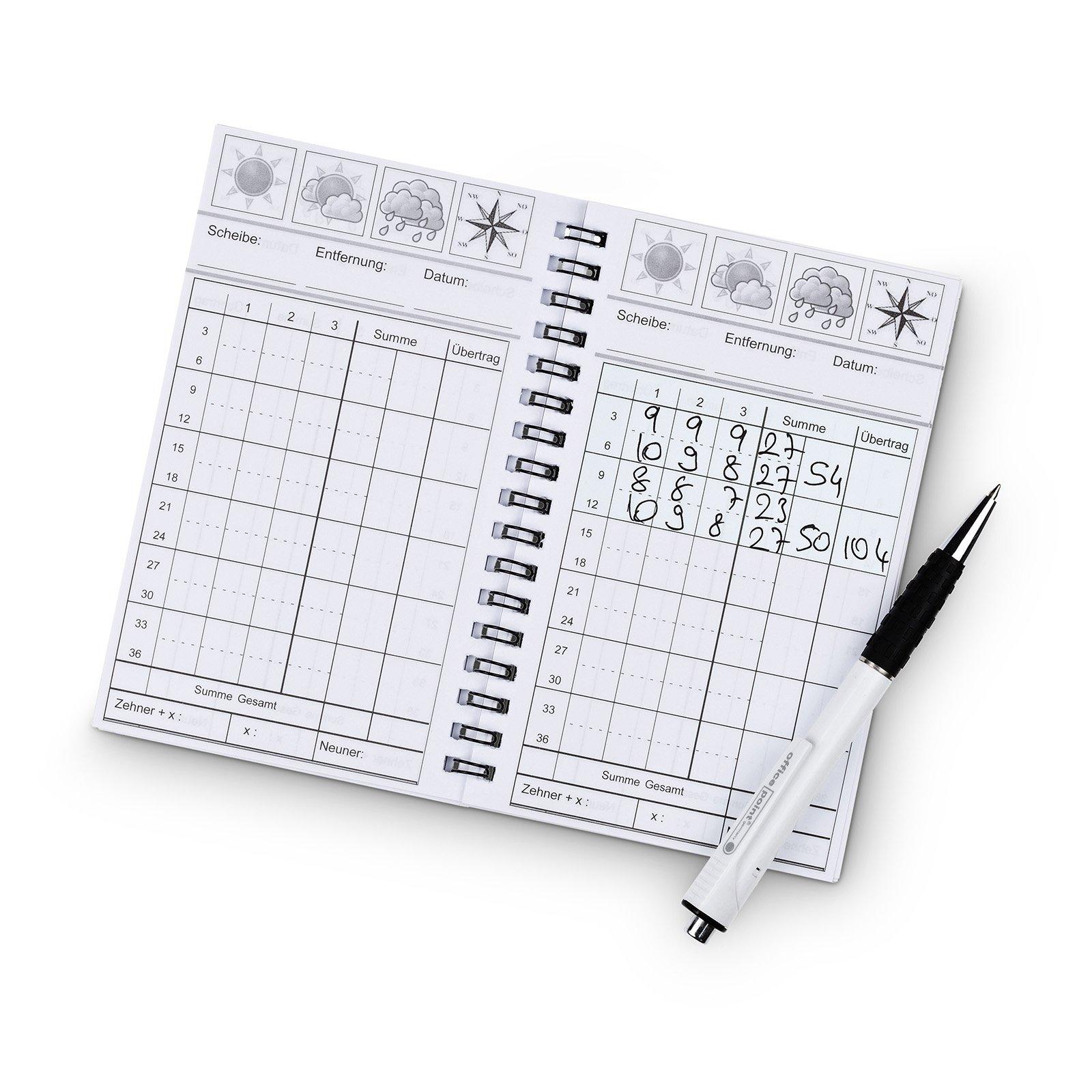 est Scorebook Schießbuch, Scorebook - est-bogensport.de