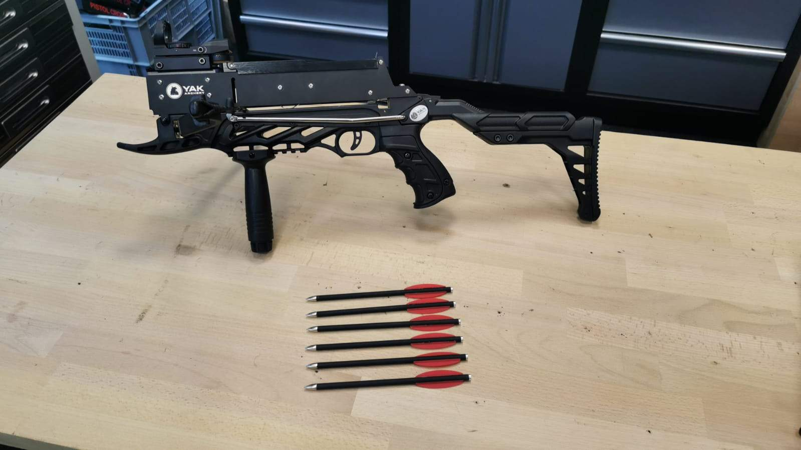 YAK Archery Pistolenarmbrust Terminator II