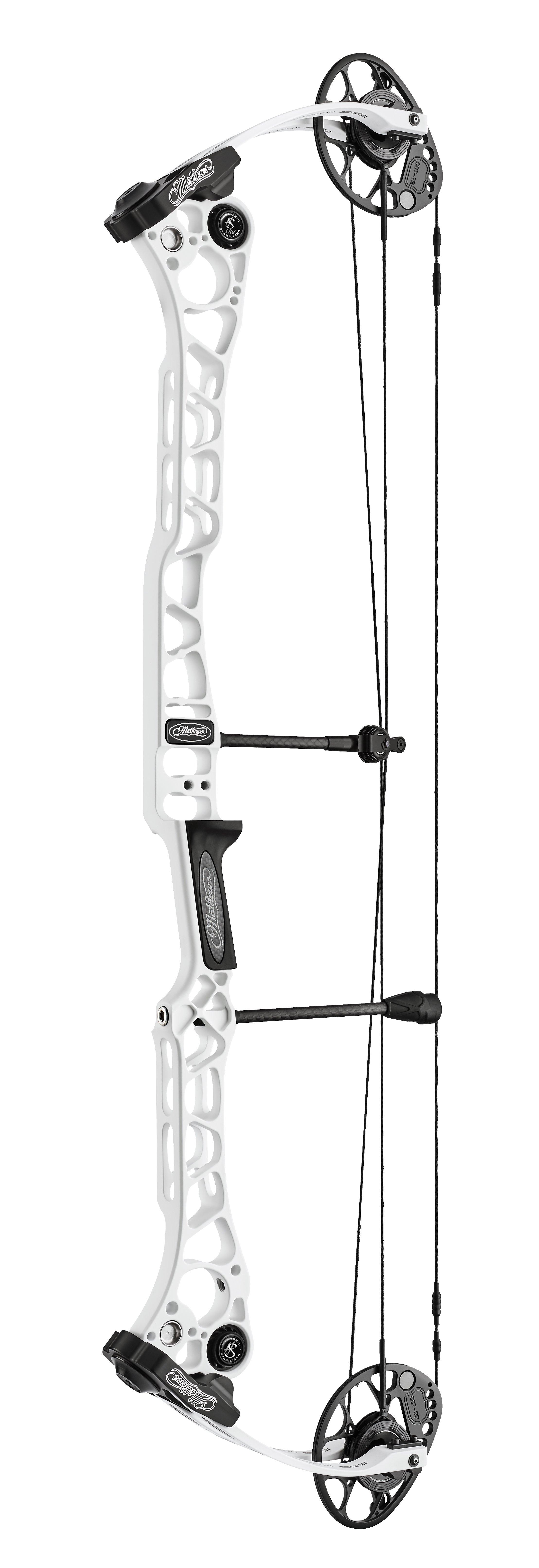 Mathews TRX 38 Compoundbogen LH (special order) / White