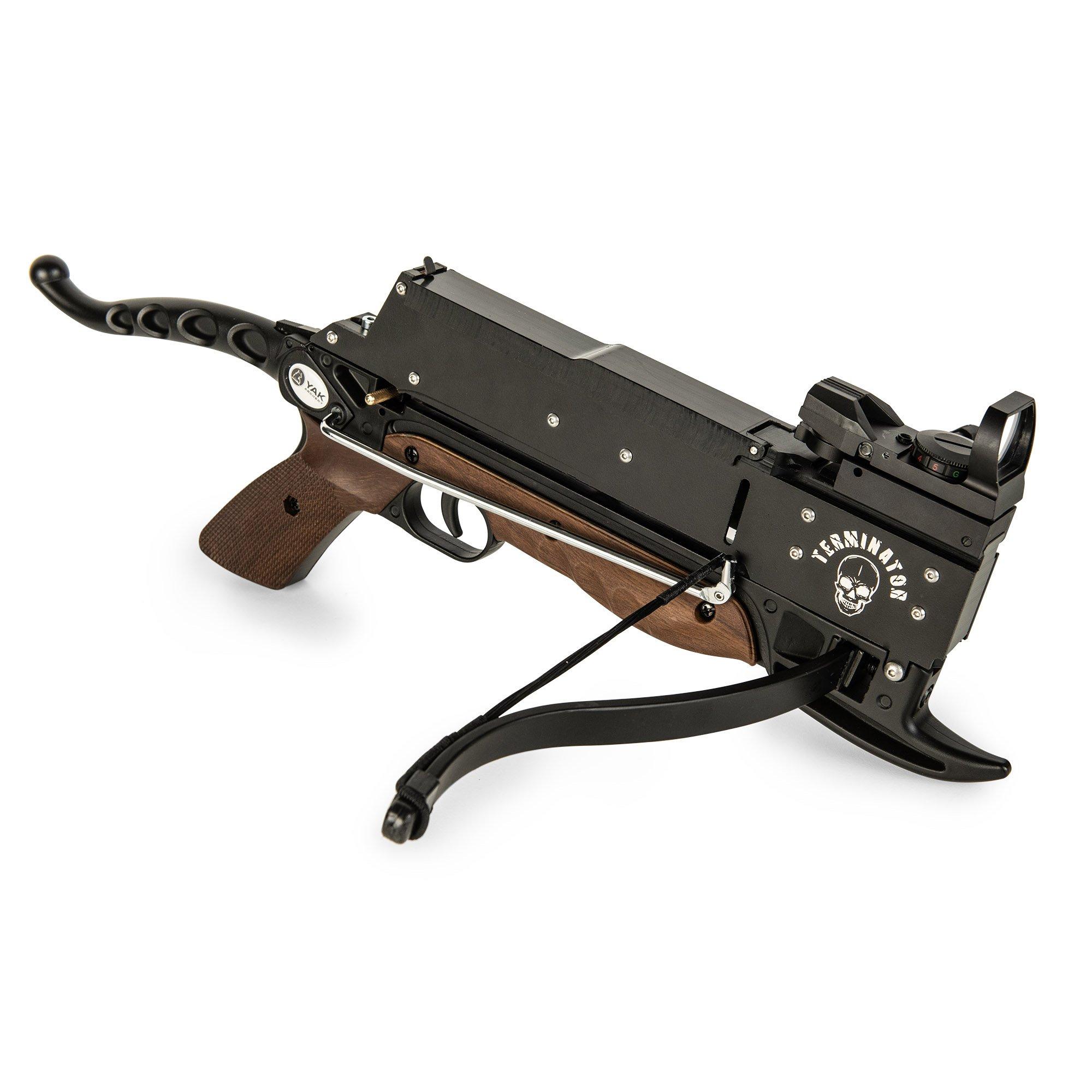 """YAK Archery Pistolenarmbrust """"Terminator"""" Holzoptik / Identitäts- und Altersprüfung durch DHL: +1,90 EUR"""