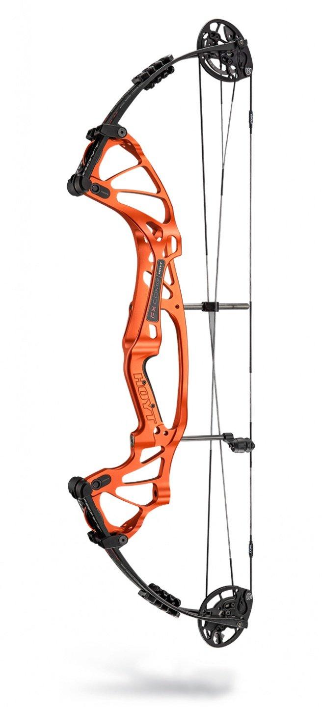 "Hoyt FX Comp DCX 2020 Compoundbogen - RH Orange Torch / 50-60# / Cam 2: 25""-26.5"""