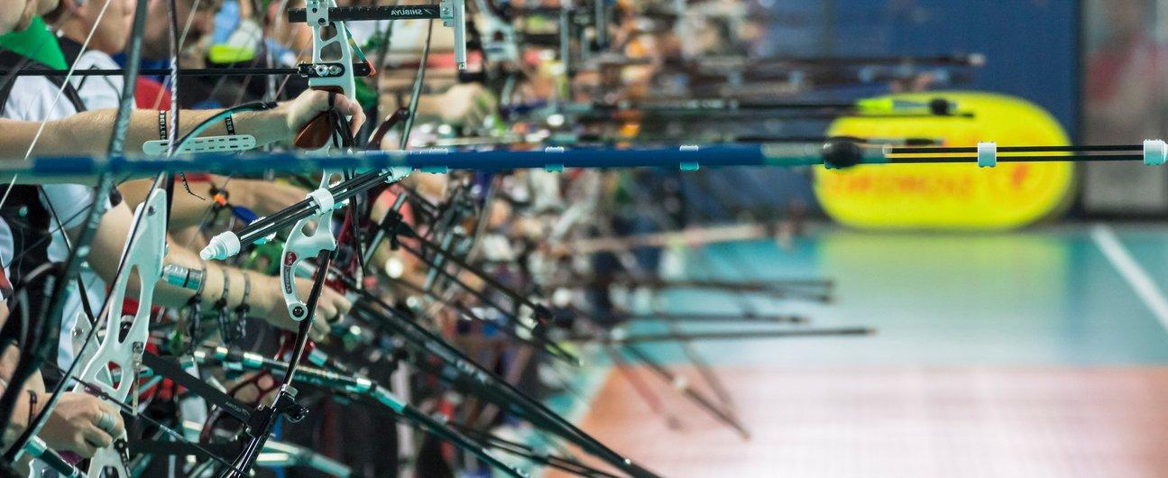 Bogensport Turniere Berlin Open Indoor 18m schiessen
