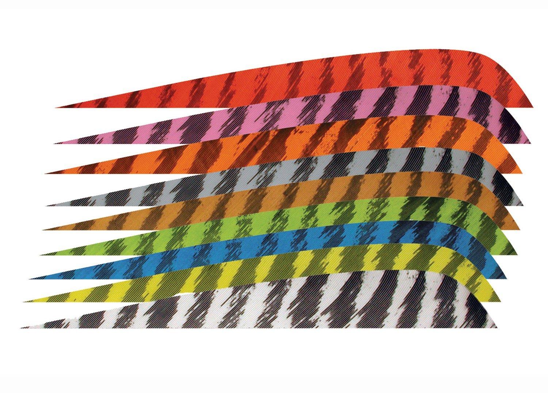 """Gateway Feather Naturfedern 3"""" shield RW / RW Pink"""