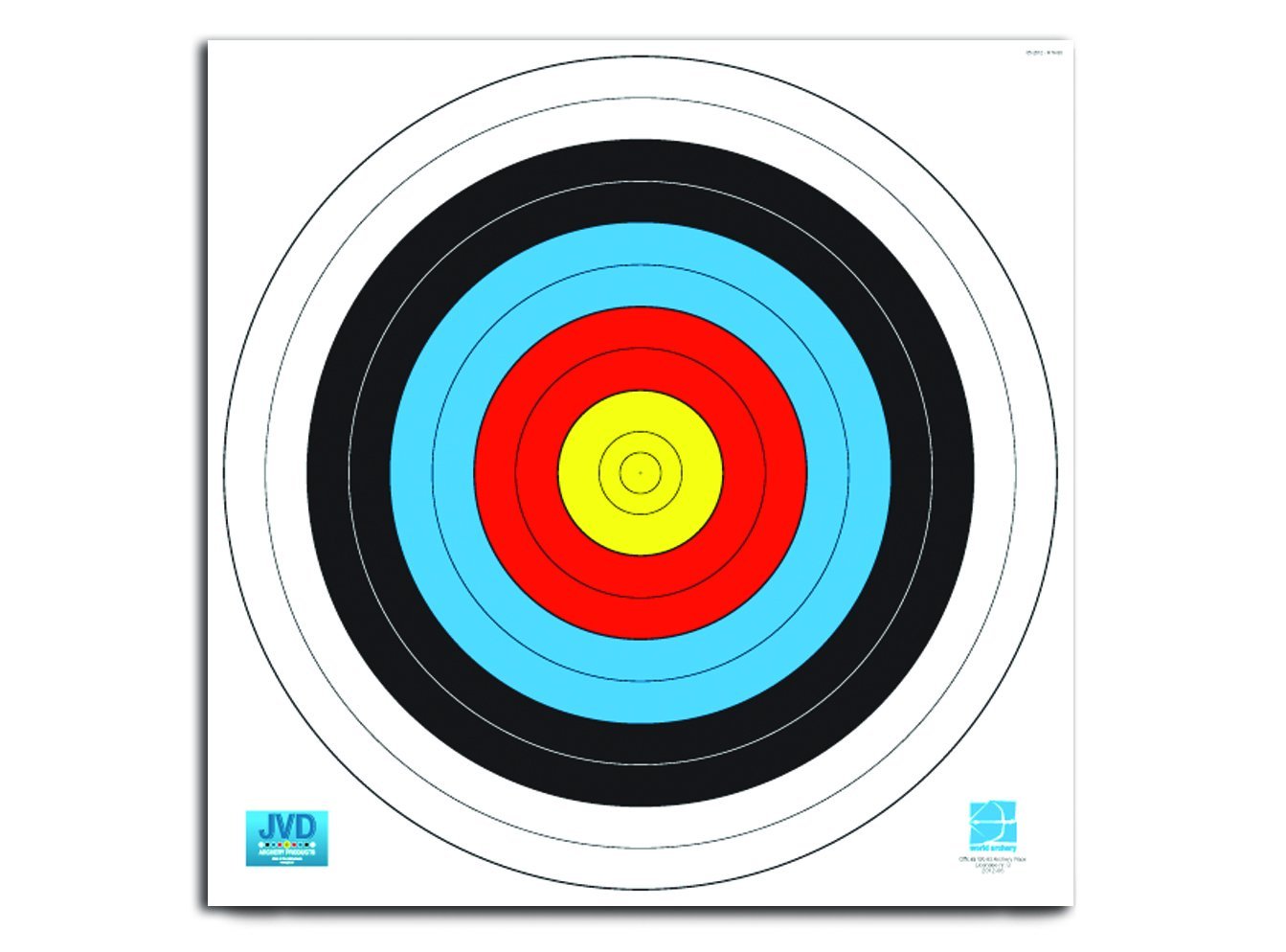 World Archery Federation (WA) - diverse Größen Scheibenauflage 80cm