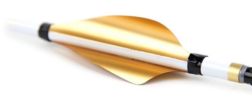 XS Wings Kunststofffeder RH / Metallic Silver / 60mm (low profile)