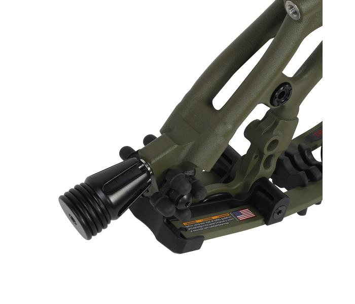 Hoyt Carbon RX-5 Compoundbogen - RH Detail Satbilisator
