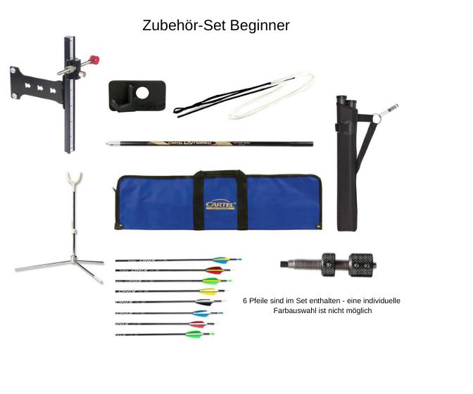 Kinetic Recurve Mittelteil Novius 2 RH / Blau / Beginner