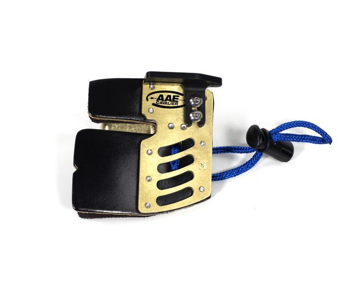 AAE Arizona Elite Cordovan Brass Fingertab, Fingertab - est-bogensport.de