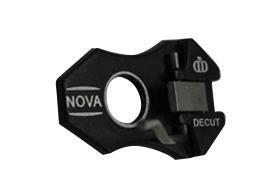 DECUT Pfeilauflage Nova 2 Magnetisch - RH/LH - Black