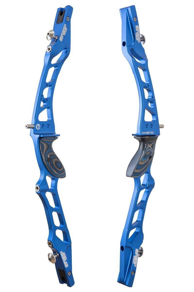 Kinetic Arios 2 Recurve Mittelteil RH / Blau / ohne Zubehör