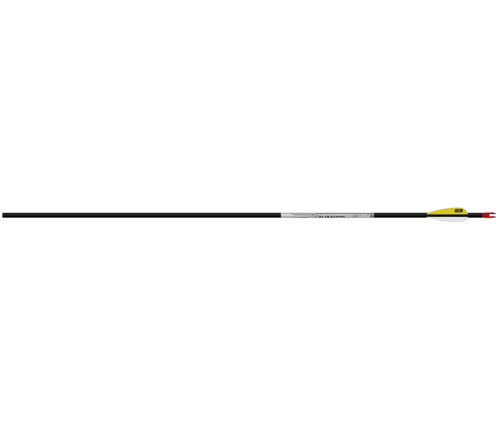 "Easton Avance Sport Carbonpfeil mit 2.3"" Diamond Federn"