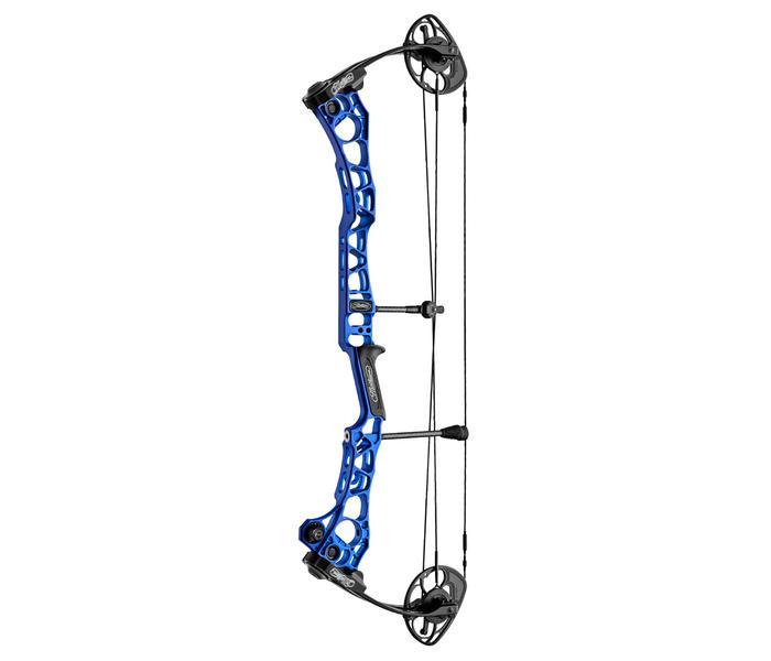 Mathews TRX 34 2021 Compoundbogen - RH Blue / 40-50 lbs / 28.0
